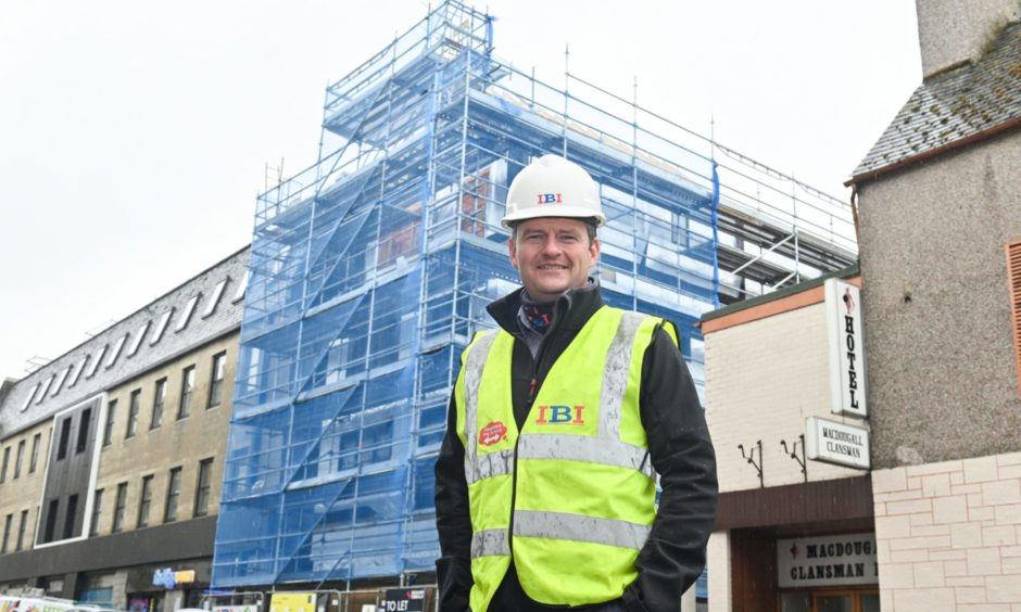 Managing director Brian Innes said the Church Street development is one of the most challenging projects they have completed to date.