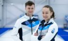 Bruce Mouat and Jen Dodds who will represent Scotland at the World Mixed Doubles Curling Championships at Curl Aberdeen