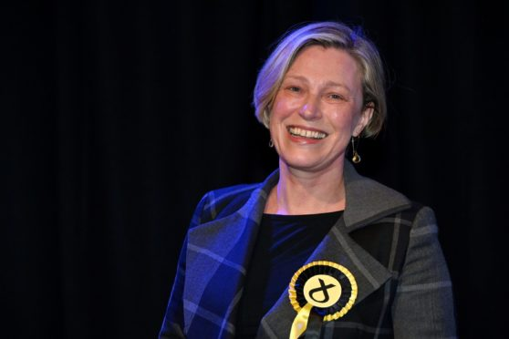 Aberdeenshire East MSP Gillian Martin.  Picture by Kenny Elrick     08/05/2021