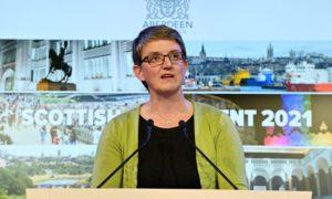 Scottish Green MSP Maggie Chapman.