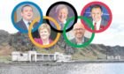 Inspired by all parties being 'winners', Ken thinks Scotland should host its own version of the Olympics, with swimming events taking place at Tarlair Pool, pictured.