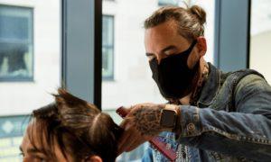lockdown hairdresser