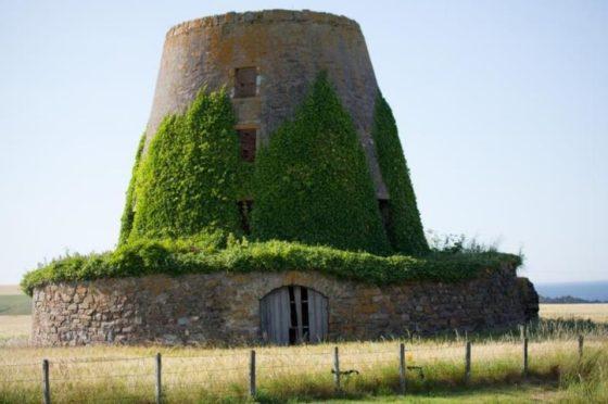 The Glasshaugh windmill