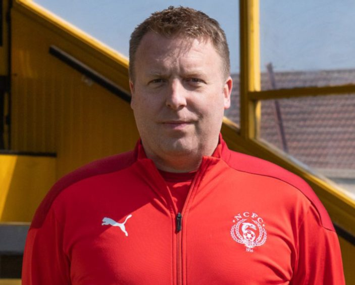 Nairn County assistant manager/goalkeeping coach Mike Rae