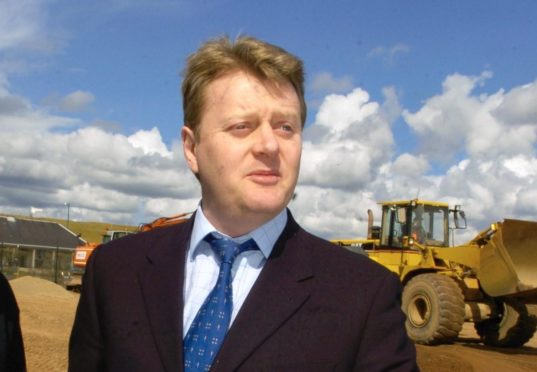 Neil Stevenson during the construction of Transition.