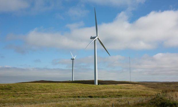 The Hammars Hill wind farm