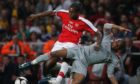 Jay Emmanuel-Thomas came through the youth system at English giants Arsenal.