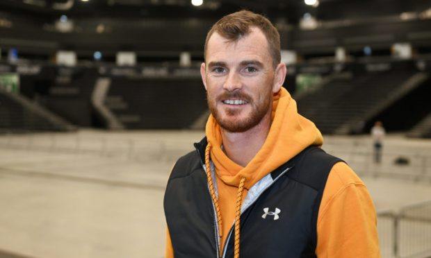 Jamie Murray at P&J Live. Picture by Paul Glendell