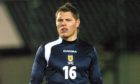 John Rankin playing for Scotland Futures in Inverness in 2006. Photograph by Alasdair Allen