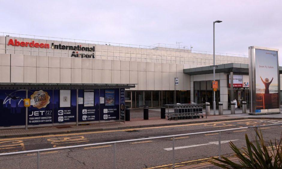 Aberdeen International Airport.