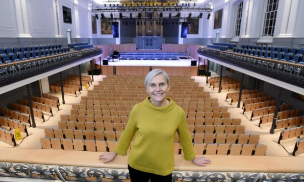 Aberdeen Performing Arts chief executive Jane Spiers at the Music Hall. Picture by Darrell Benns