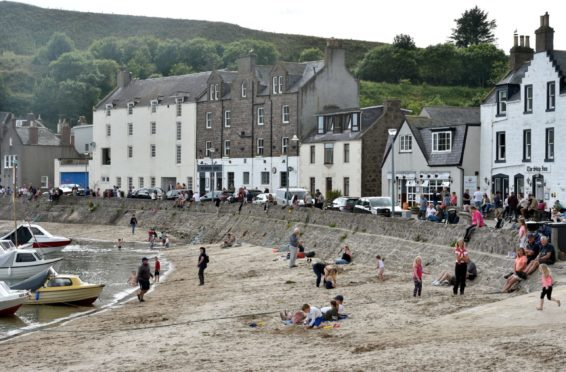 Stonehaven has been named among the most expensive seaside towns to buy a home in.