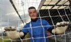 Ex-Ross County goalkeeper Michael Fraser.