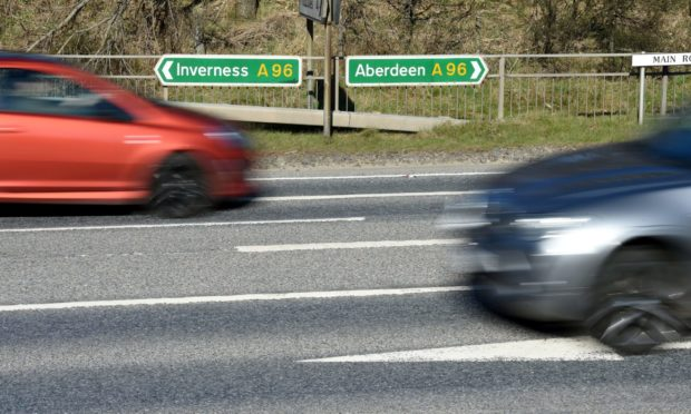 The new footpath and cycle path will aim to improve road safety on the A96 near Lhanbryde.