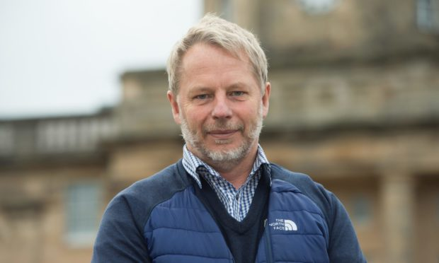 Dr Jamie Hogg, clinical director at Dr Gray's Hospital in Elgin.