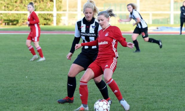Aberdeen Women will be back in action. Picture by Kenny Elrick