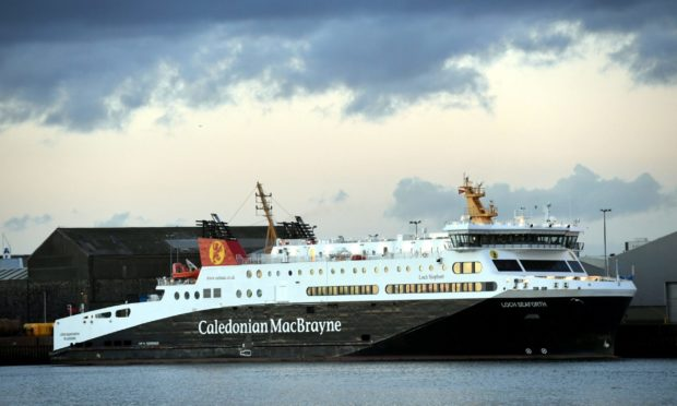 The Caledonian MacBrayne Loch Seaforth.     Picture by Kami Thomson.