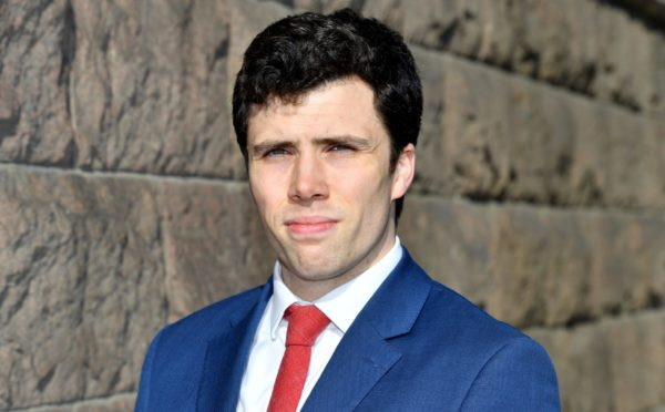 Councillor Ryan Houghton is expected to be named co-leader of Aberdeen City Council in the coming week