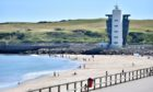Aberdeen Beach in the sun.