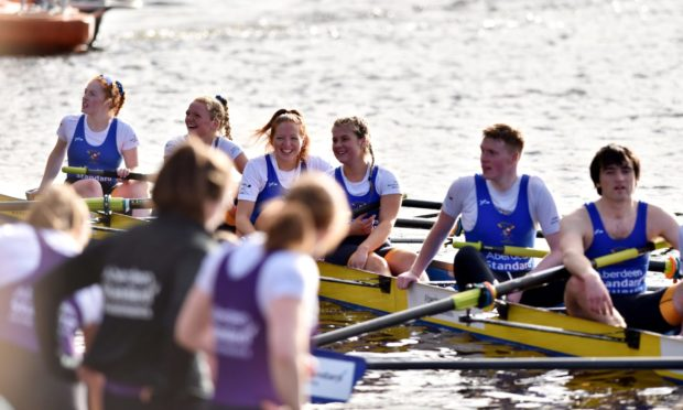 The Aberdeen Boat Race takes place on the River Dee.