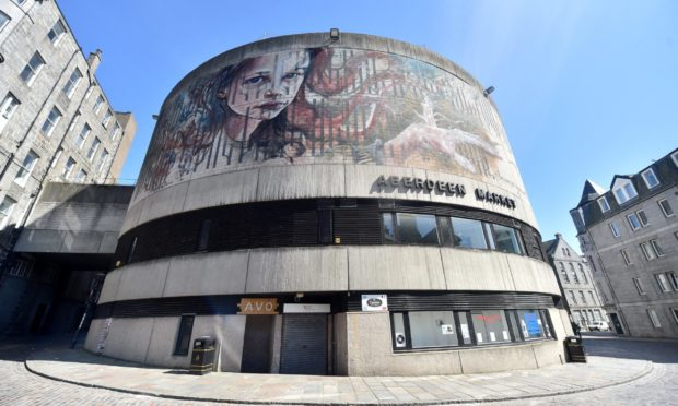 The Aberdeen walls to to be given the Nuart transformation treatment have been revealed.