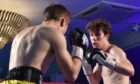 Elgin lightweight Andrew Smart, right, harbours Scottish title ambitions. Picture by Scott Baxter