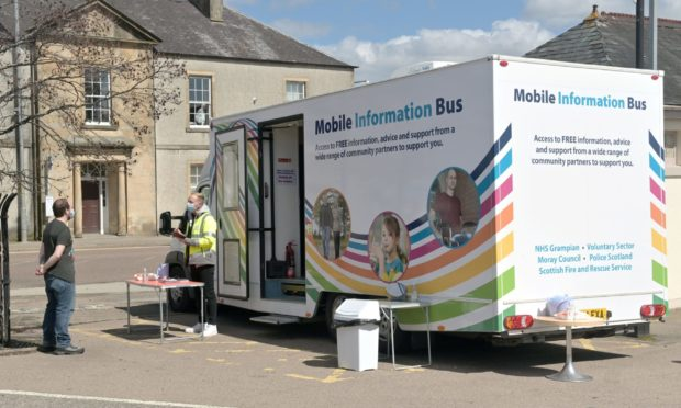 Testing in Moray will now return to normal