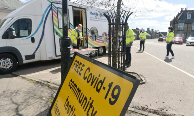 A new mobile test site was announced in Kirkcaldy