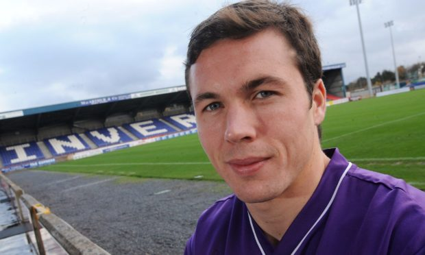 Don Cowie, who played for Caley Thistle from 2007-2009. Photograph by Sandy McCook