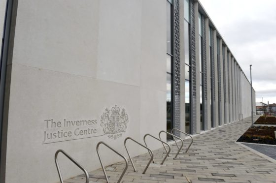 The case called at Inverness Sheriff Court