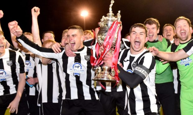 Fraserburgh are the Evening Express Aberdeenshire Cup holders following their triumph in 2019.