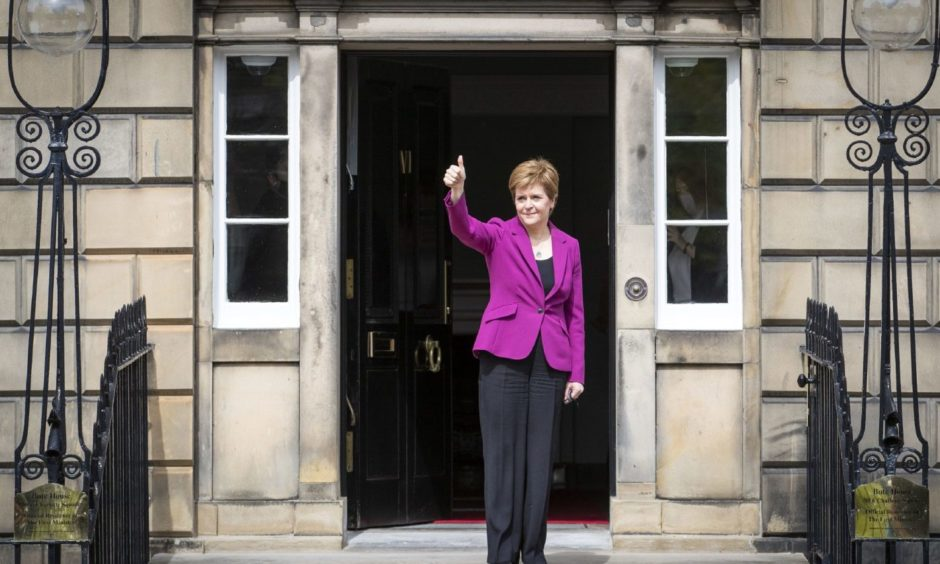 First Minister Nicola Sturgeon has announced her new top team.