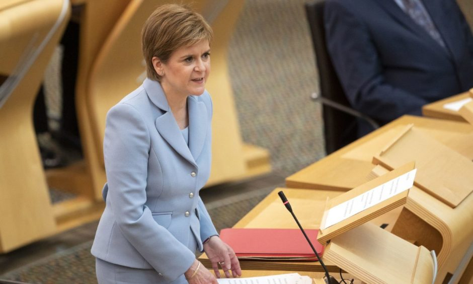 SNP leader Nicola Sturgeon is expected to outline her priorities for government to parliament on Wednesday.
