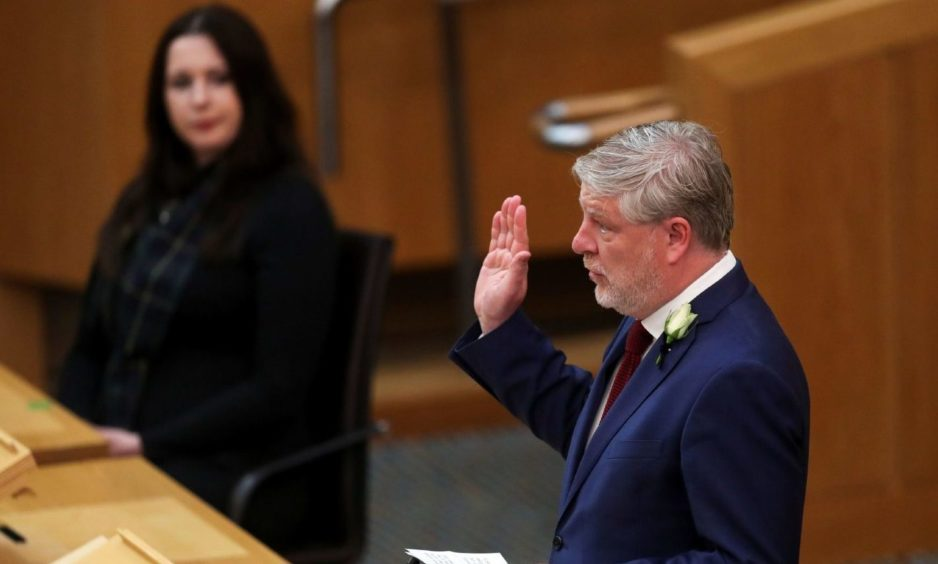 Angus Robertson is now a senior Scottish Government minister.