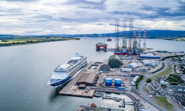 Port of Cromarty Firth.