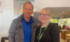Robson Green and Donna Macculloch.