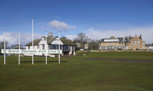 Royal Dornoch are thanking NHS staff by welcoming them onto the greens of their world-renowned courses.