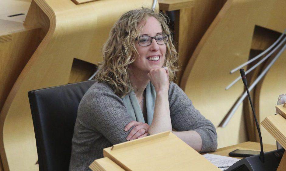 Lorna Slater, co-leader of the Scottish Greens.