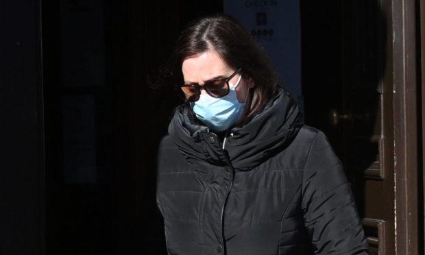 Emma Hulme outside court