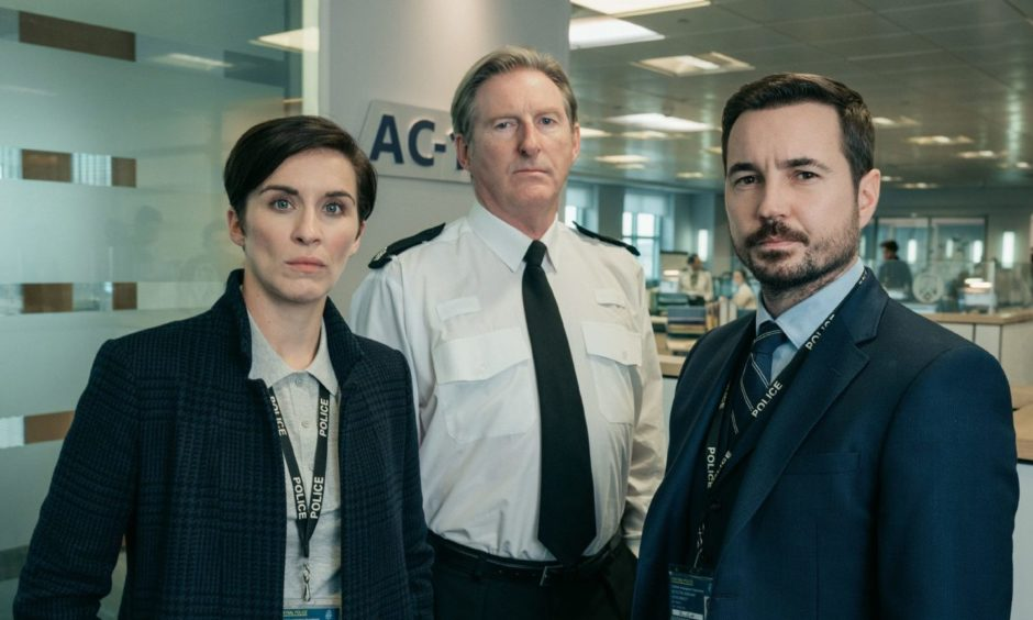 You could watch Line Of Duty - starring Vicky McClure as Detective Inspector Kate Fleming, Adrian Dunbar as Superintendent Ted Hastings, Martin Compston as Detective Inspector Steve Arnott - four times over in the time Police Scotland estimates it would take to count the number of corruption investigations carried out over the last five years