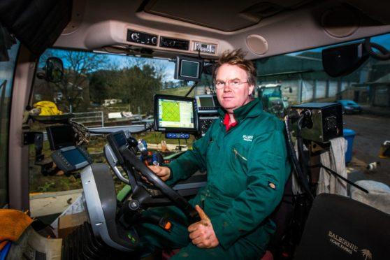 David Aglen, farms manager at Balbirnie Home Farms.