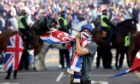 Some of the images of Rangers fans in George Square were shocking, writes Iain Maciver