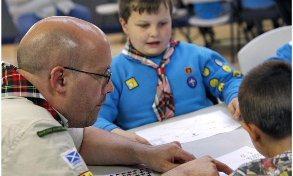 North East Scouts emphasized the importance of young people having good map reading skills, regardless of technological developments.