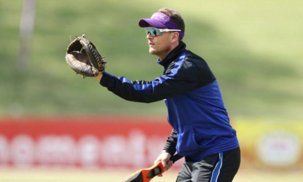 Scotland head coach Shane Burger