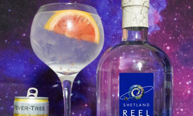 The new Shetland Reel Countdown gin.