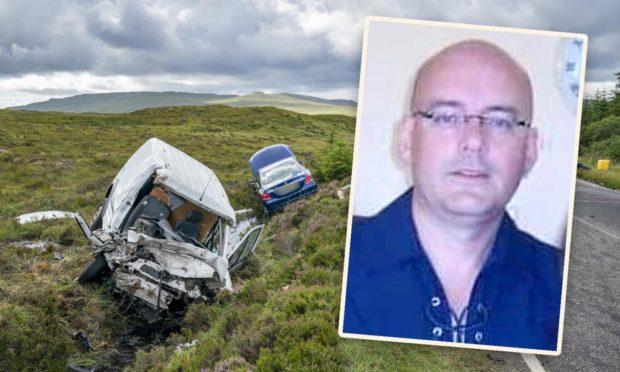 Ewen Mackay was killed instantly in the crash on Skye
