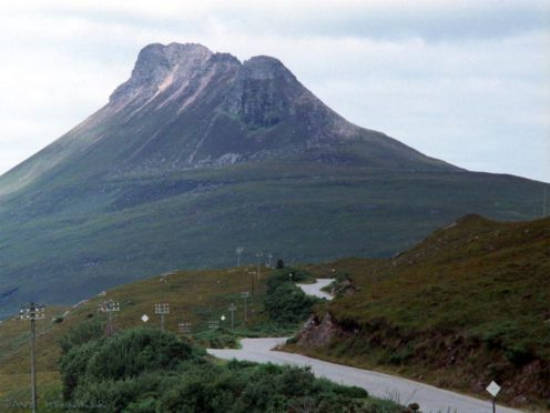Stac Polllaid is a magnet for tourists in the north-west Highlands
