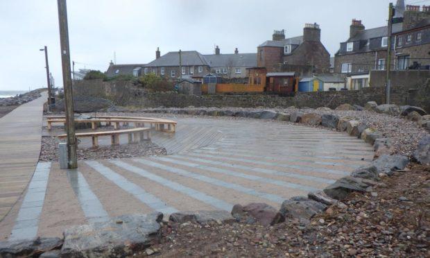 Work on Stonehaven's Boardwalk will start next Monday