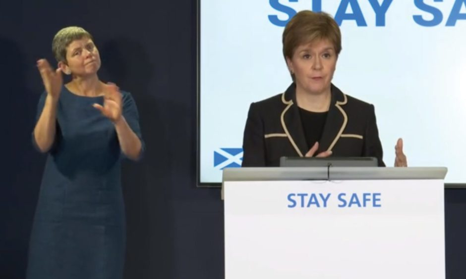 Nicola Sturgeon is to make a coronavirus briefing