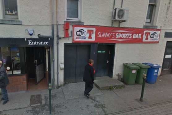 To go with story by Craig Munro. A team from NHS Highland is investigating a Covid outbreak in Fort William Picture shows; Sunny's Sports Bar, Fort William. Google Maps. Supplied by Google Maps Date; Unknown